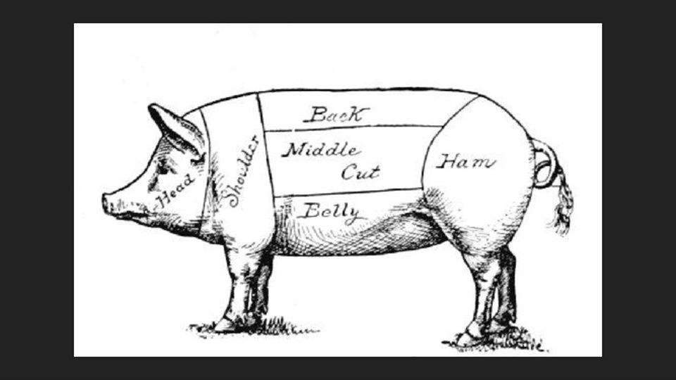 Pork cut sheet