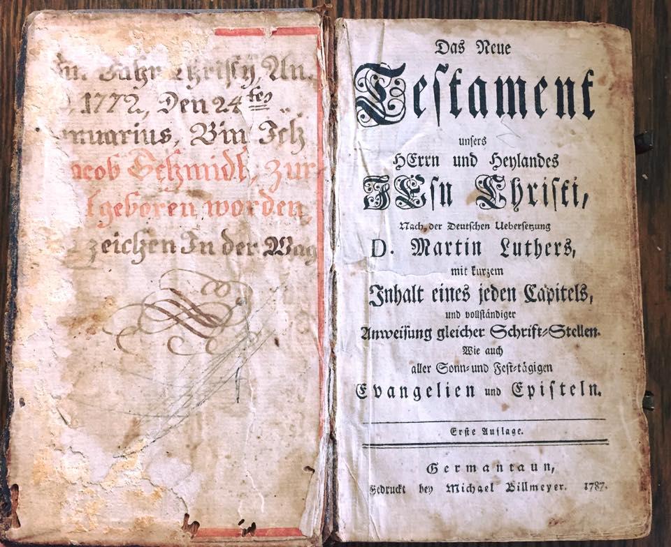 Jacob Smith, Jr. Bible