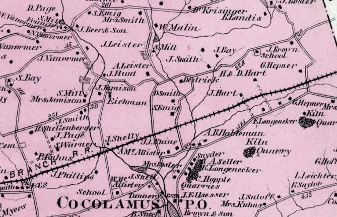 1877 Pomerory Atlas